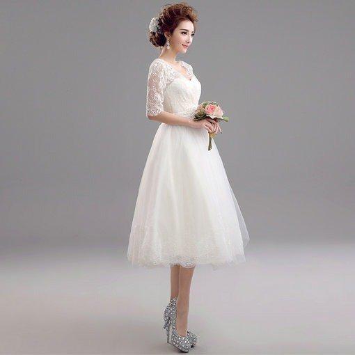 a line wedding dress-120-06