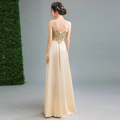 gold evening gown-205-06