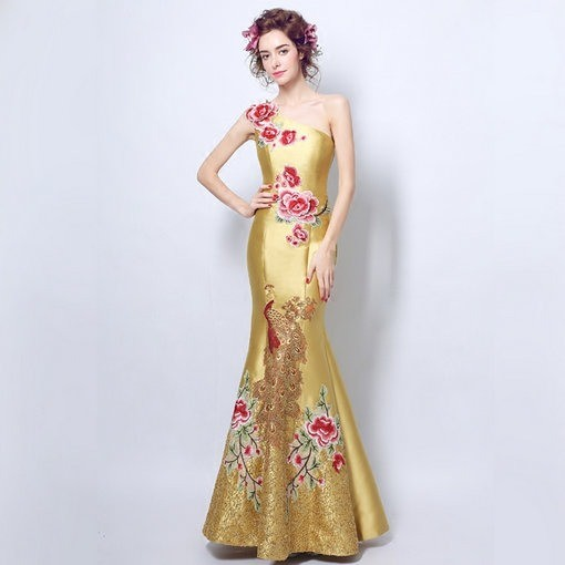 Gold Evening Dresses