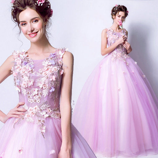 1bb46e49d0e Quinceanera Dress Light Purple Ball Gown - Cheap Prom Dress