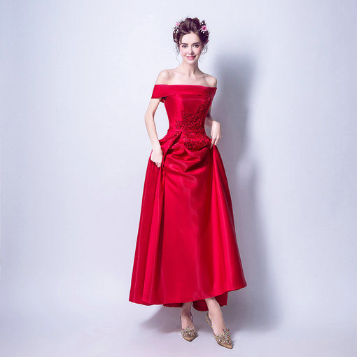 red evening gown-89-06