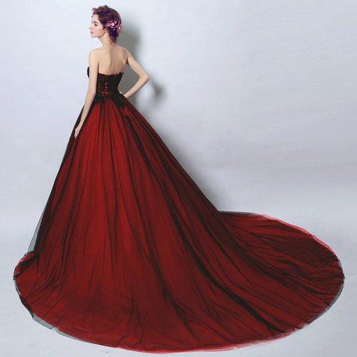 wedding dress ball gown-117-03