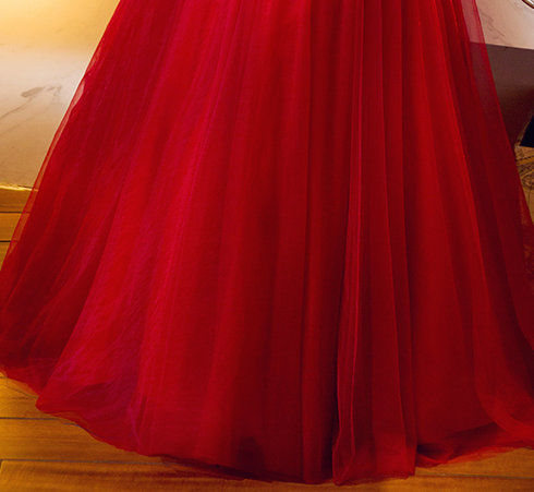evening gowns with sleeve-372-001