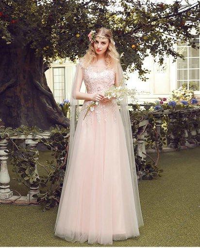 prom dress pink-0405-04