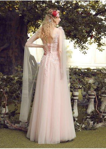 prom dress pink-0405-05