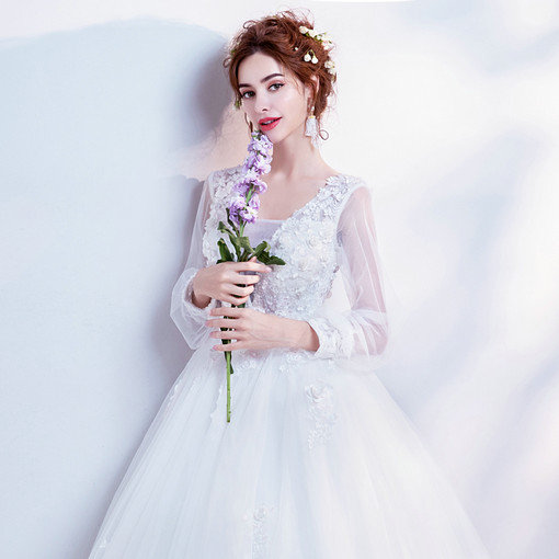 wedding gowns with sleeves-0540-05