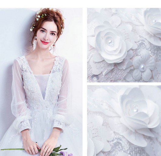 wedding gowns with sleeves-0540-07