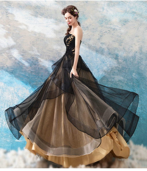 ball gown prom dress 0683-07