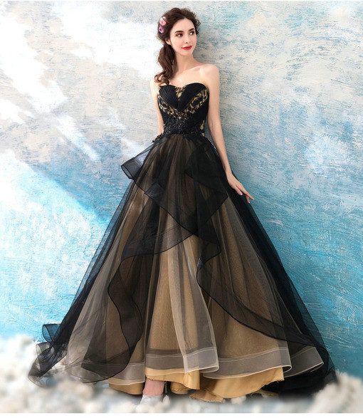 ball gown prom dress 0683-06