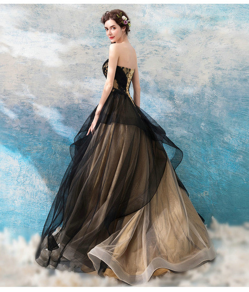 ball gown prom dress 0683-08