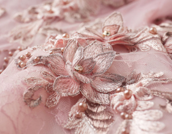 pink ball gown prom dress-0820-03