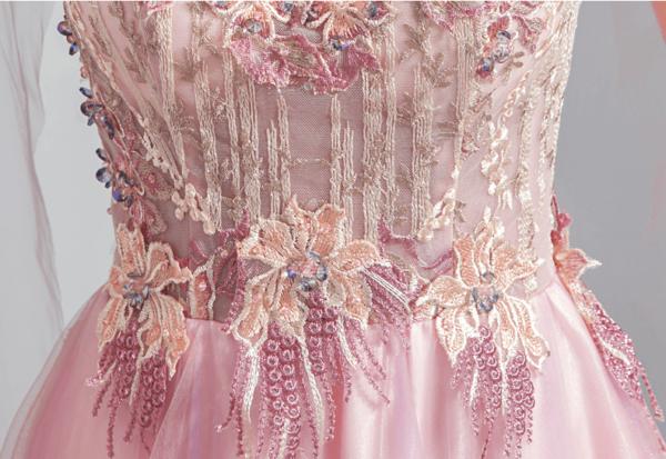 cape sleeves dress-947-02