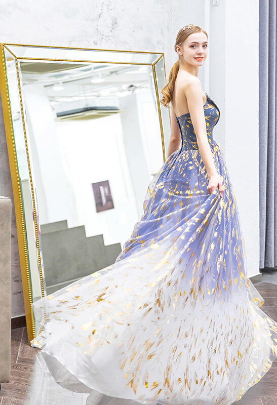blue and gold prom dress 978-01