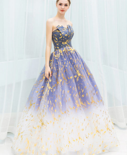 blue and gold prom dress 978-03