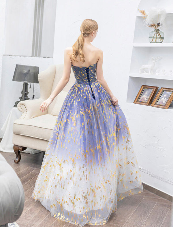 blue and gold prom dress 978-04