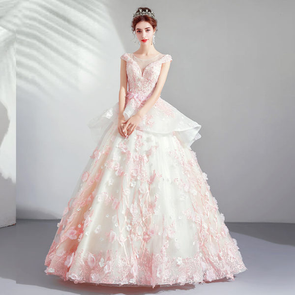 pink ball gown 975-01
