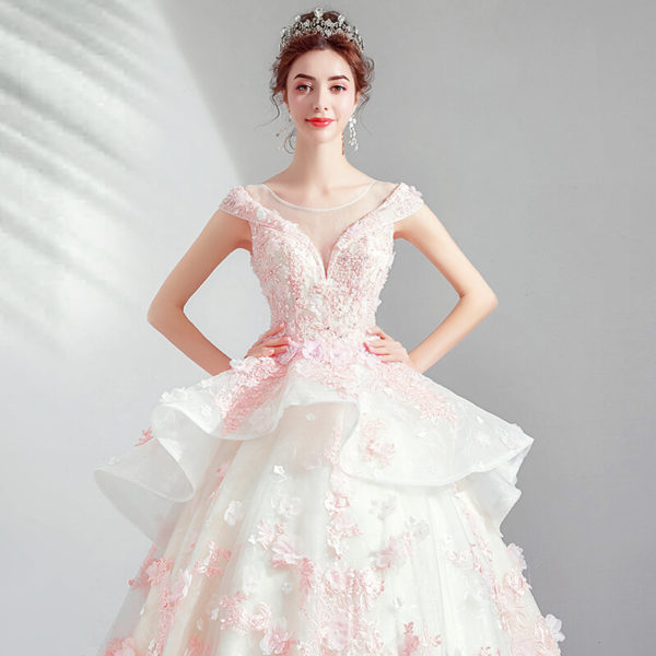 pink ball gown 975-02