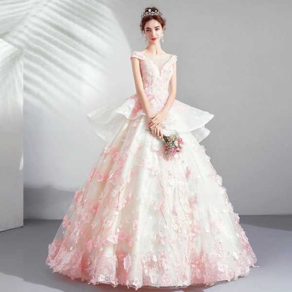 pink ball gown 975-03
