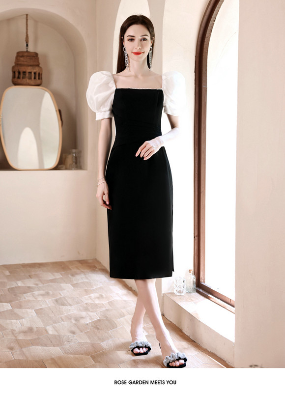 black party dress 1259-003